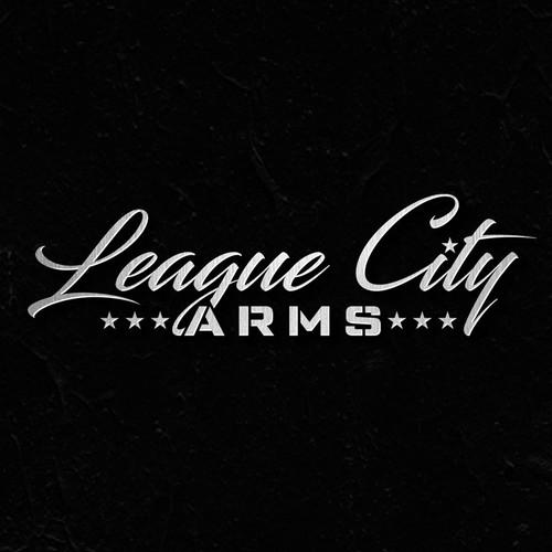 """Logo Design for """" League City Arms """""""