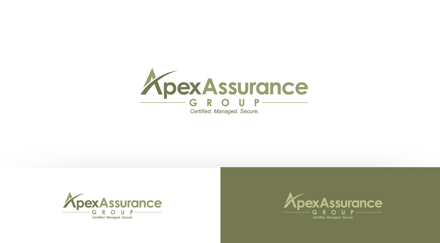 Create the next logo for Apex Assurance Group