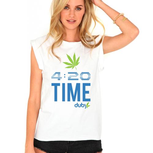 PASS THE DUBY! Marijuana App Shirt Contest