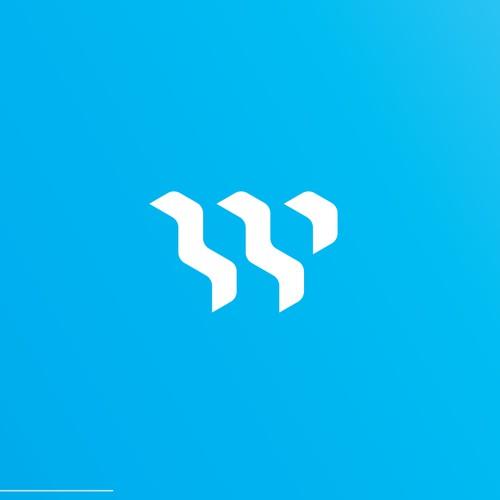 Logo for a web design company