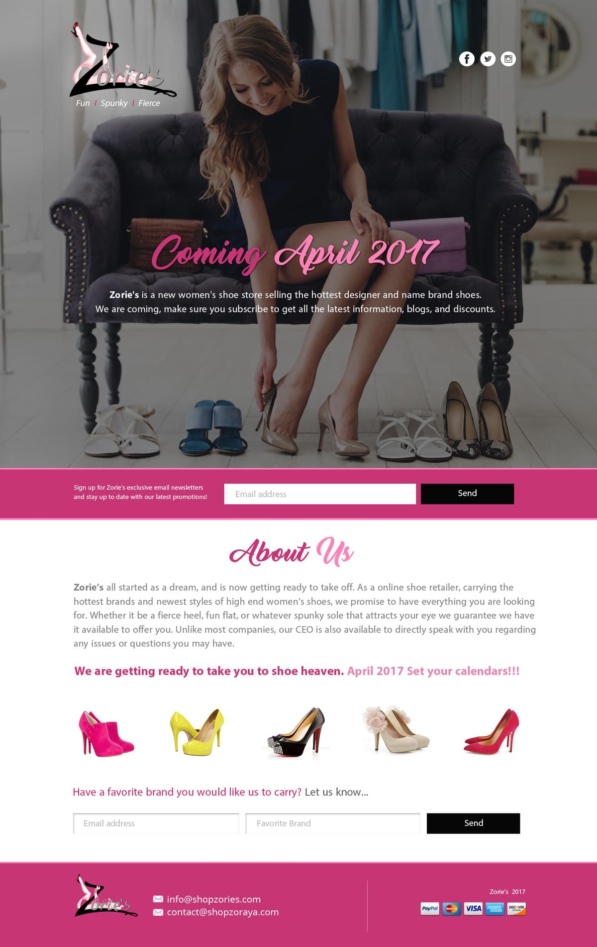 ZORIES women shoe store