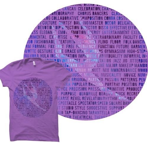Dance theme t shirt designer - WINNER