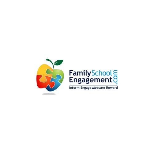 Family School Engagement Logo