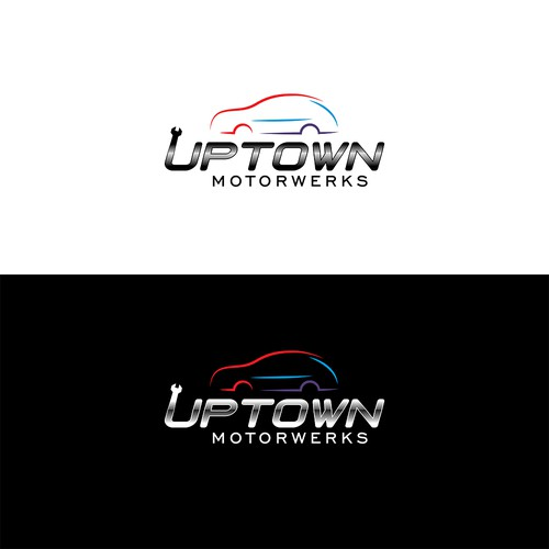 Logo for a motor repair company