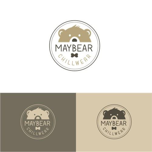 Concept de logo ludique pour des pyjamas coocooning