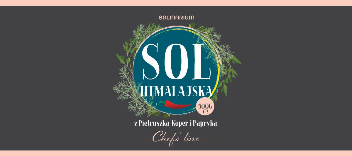 Sól himalajska label variants