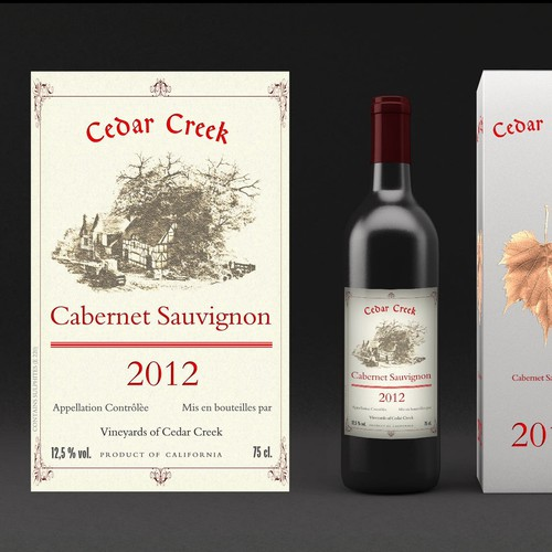 Logo and level design for a new winery!! 2