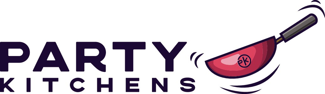 Party Kitchens logo - Woldwide street food delivery company