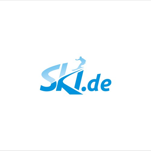 skiing-platform ski.de needs a powerful logo