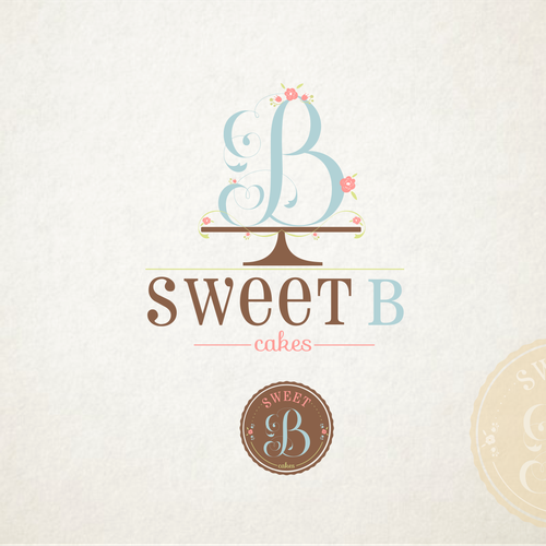 Create a winning logo design for Sweet B Cakes