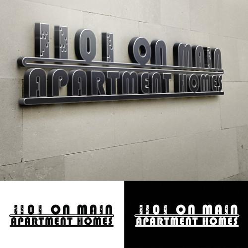Apartement logo rebranding Design