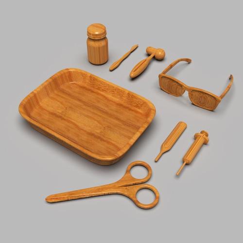 Medical Wooden Toys
