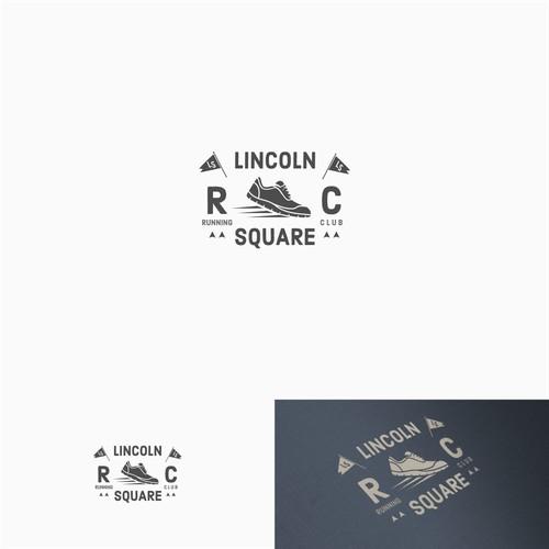 vintage running club logo