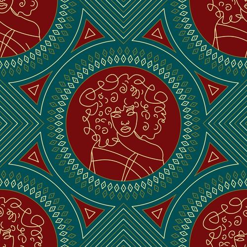 Apparel/Textile Designs Pattern