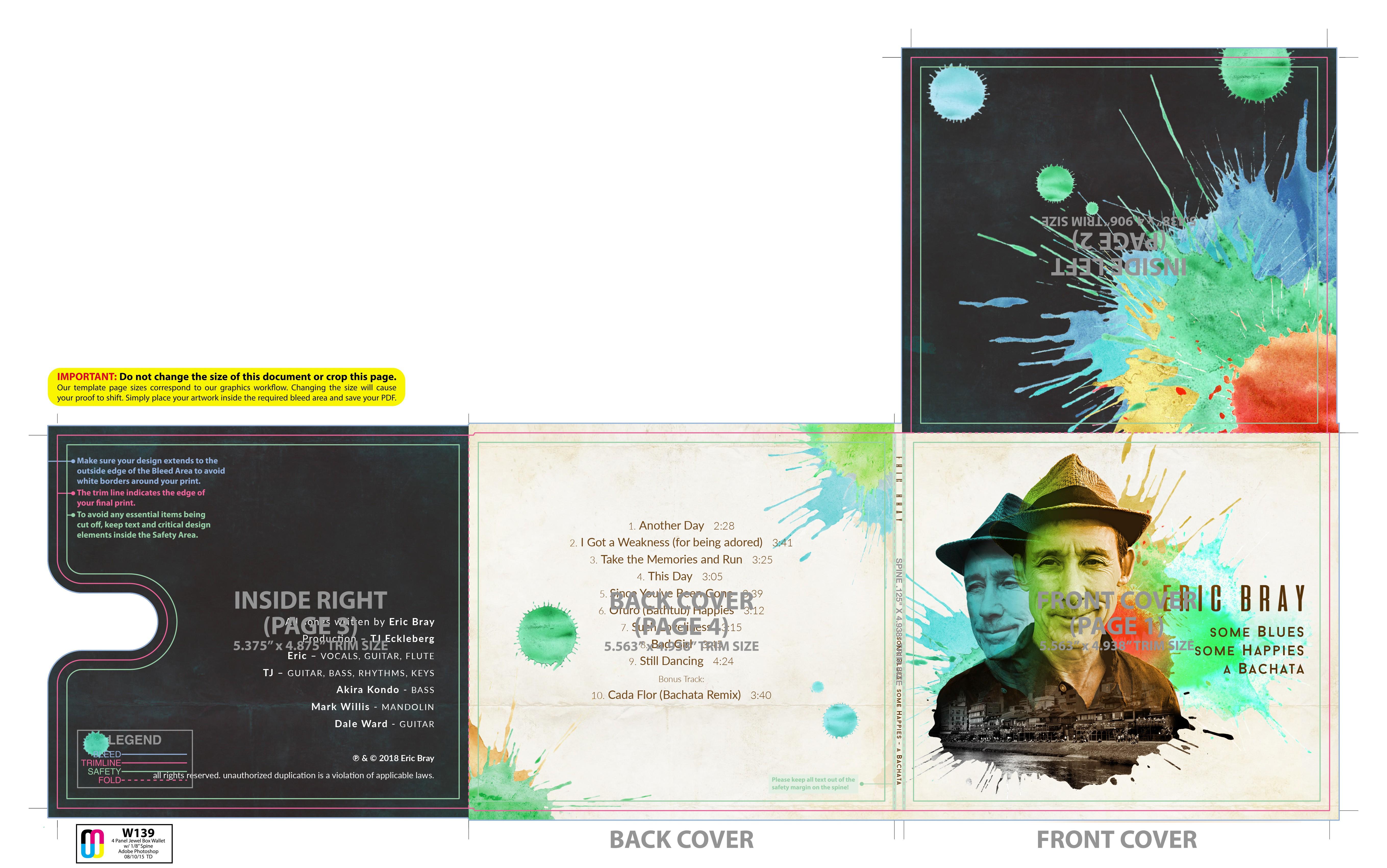 Singer Songwriter needs a CD cover design