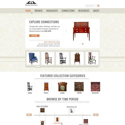 Artful design needed for historic furniture site