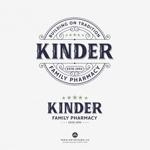 Logo for Kinder Family Pharmacy