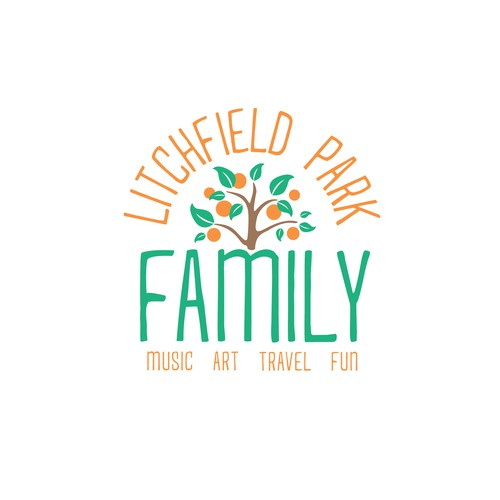 Litchfield Park Family - Fun logo concept for Family YouTube Channel