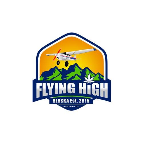 logo flying