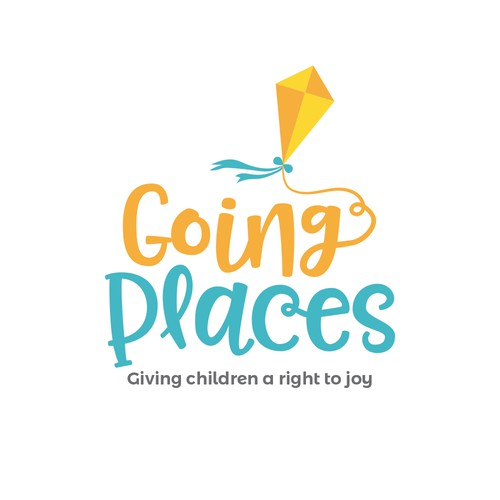 A whimsical logo for a great children's charity