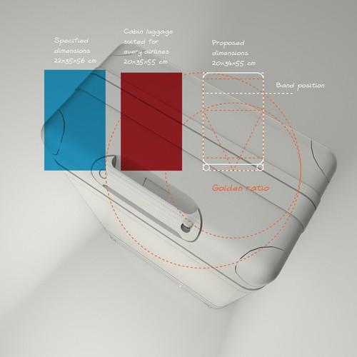 3D Smart Suitcase Design