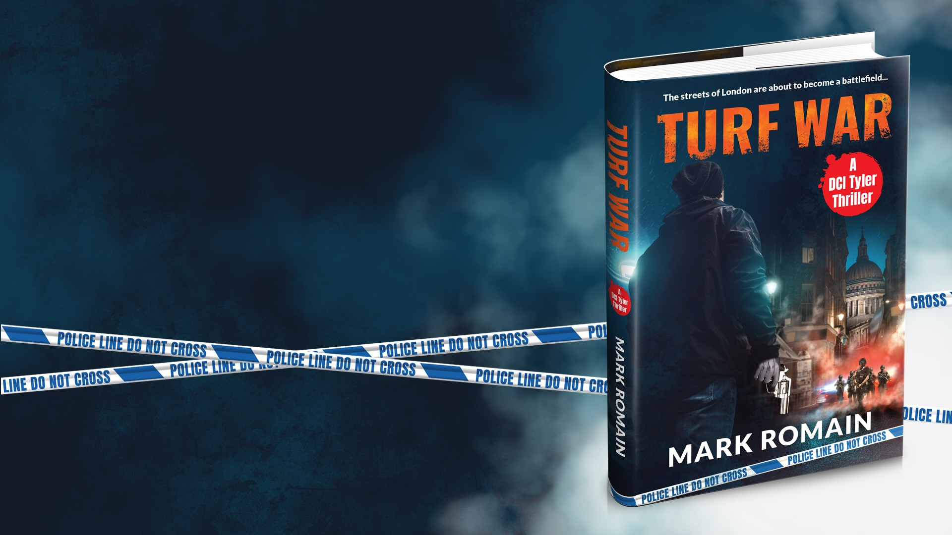Book cover for new book - Turf War