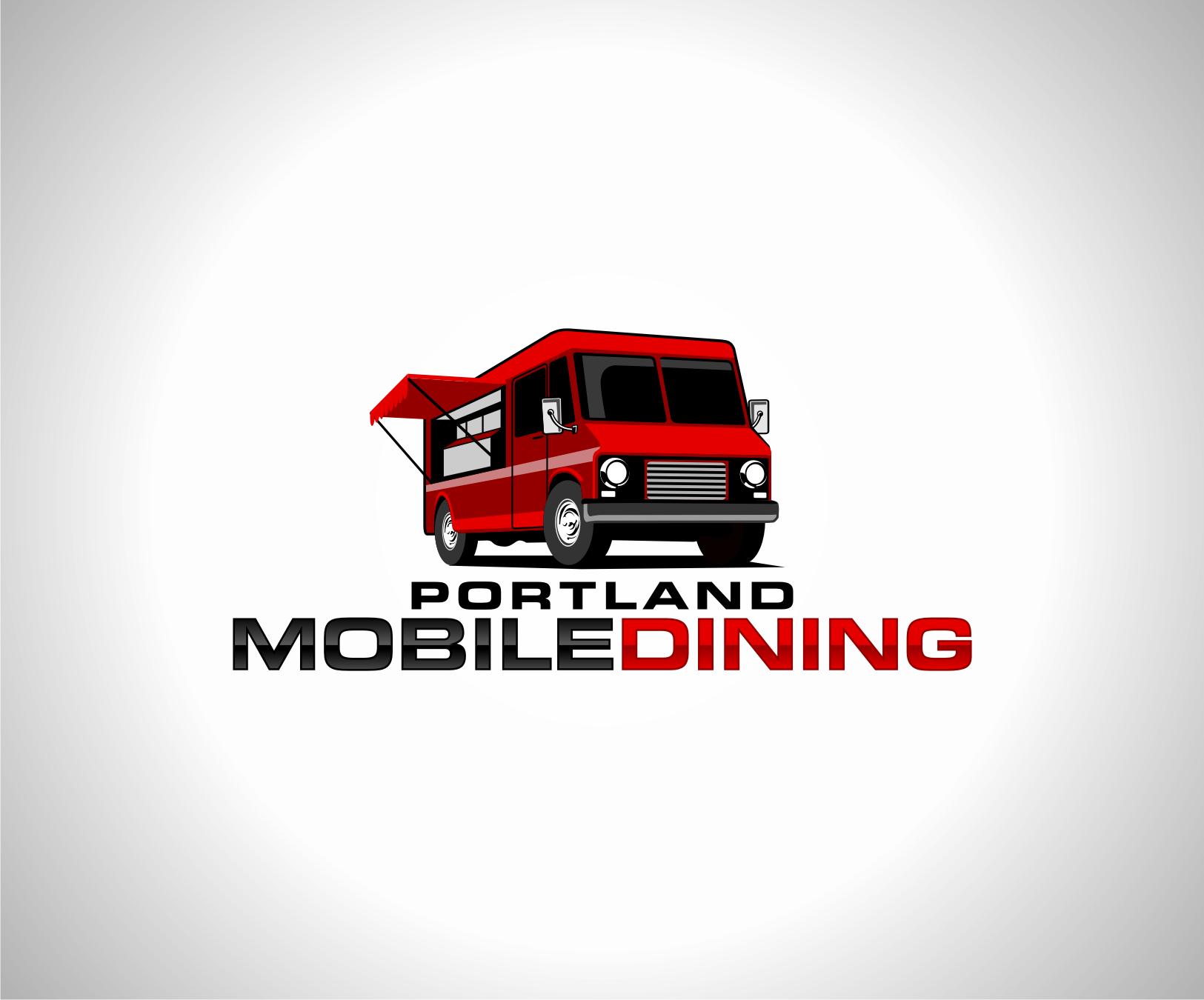 Food Cart Booking Agency Logo