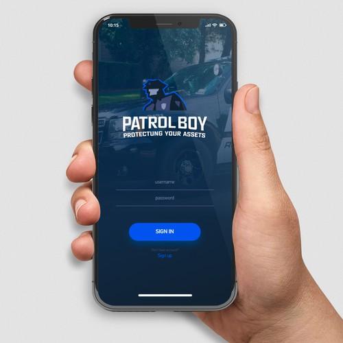 patrol boy app