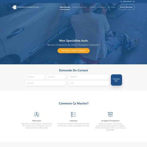 MSA Landing Web Page