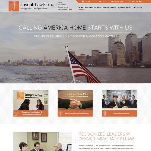 Jaseph Law Firm design