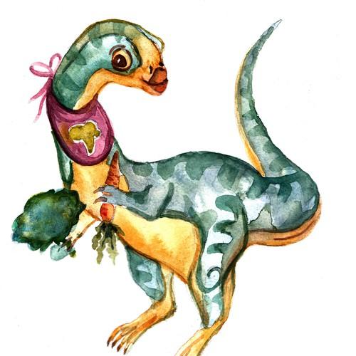 dinosaur. vegan