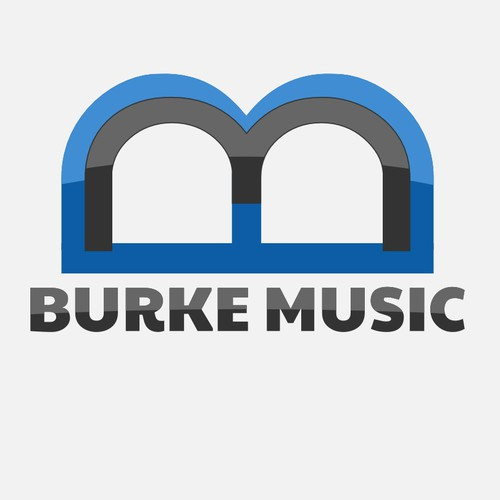 Logo concept for music retailer