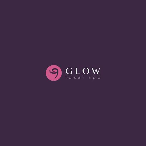 Glow logo designs