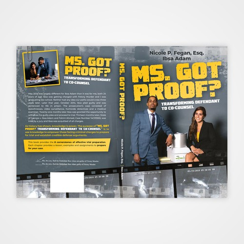 """Book cover for """"Ms. Got Proof?"""""""