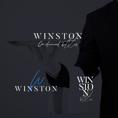 Logo design for Winston, Luxury Butler Service