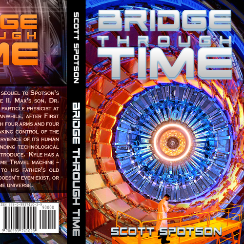 Book Cover for Sci-Fi, Time Travel Story