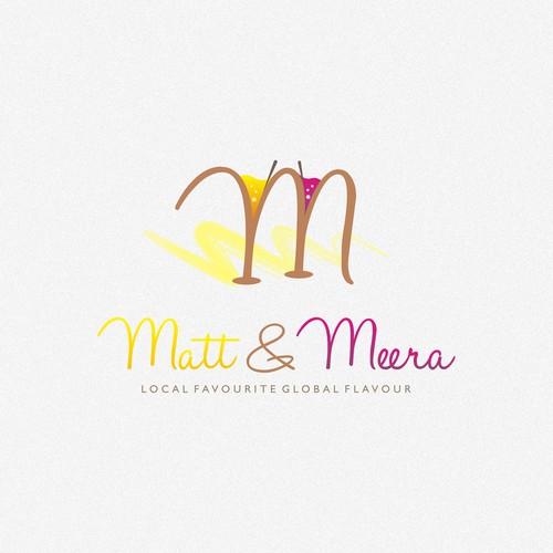 logo for Matt & Meera