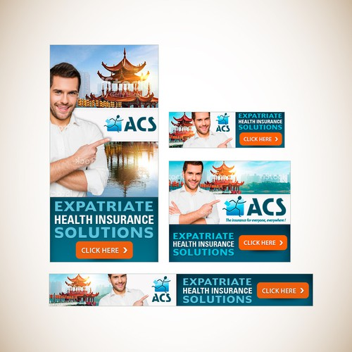 Banner set for Health Insurance Company