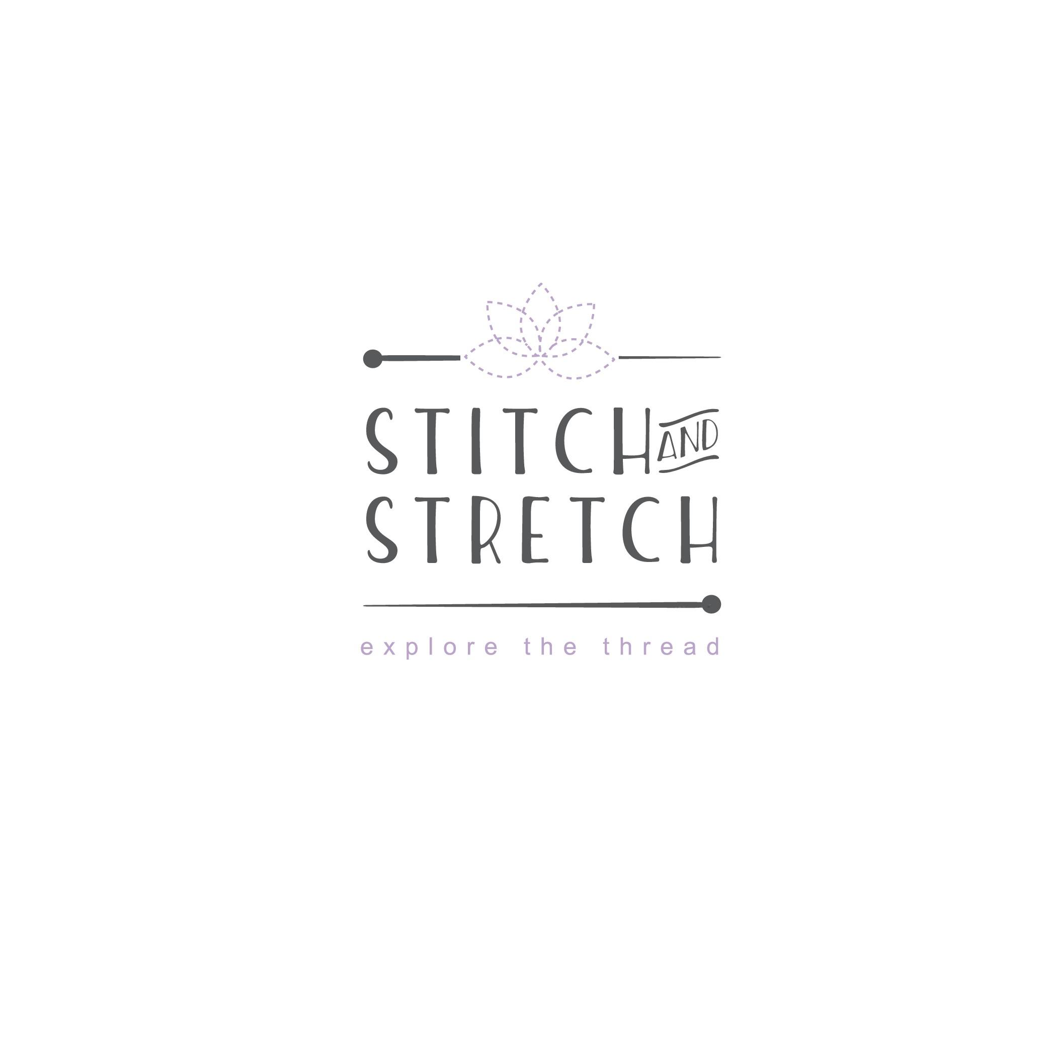 Design a Crafty Logo for Stitch and Stretch Blogsite