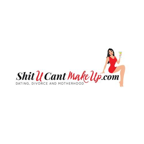 Flirty logo for a personal blog