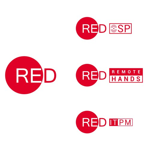 Sub Logo Red Tech Company