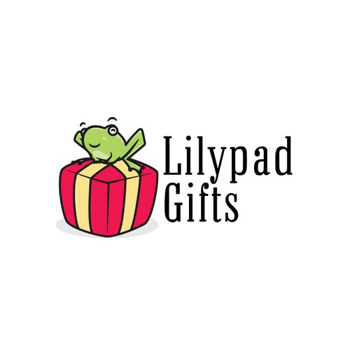 Lilypad Gifts logo concept design