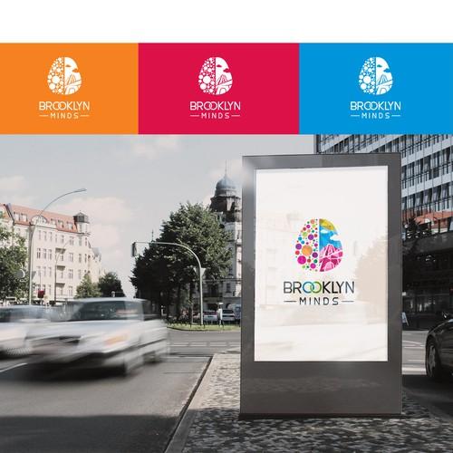 Logo concept for brooklin mind