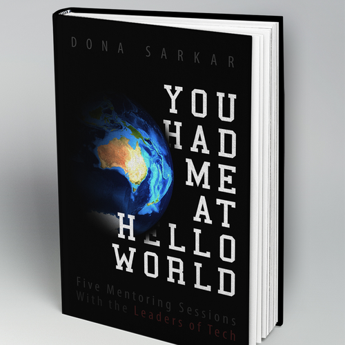 Book cover, You Had Me At Hello World