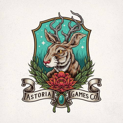 Astoria Games Co. Logo