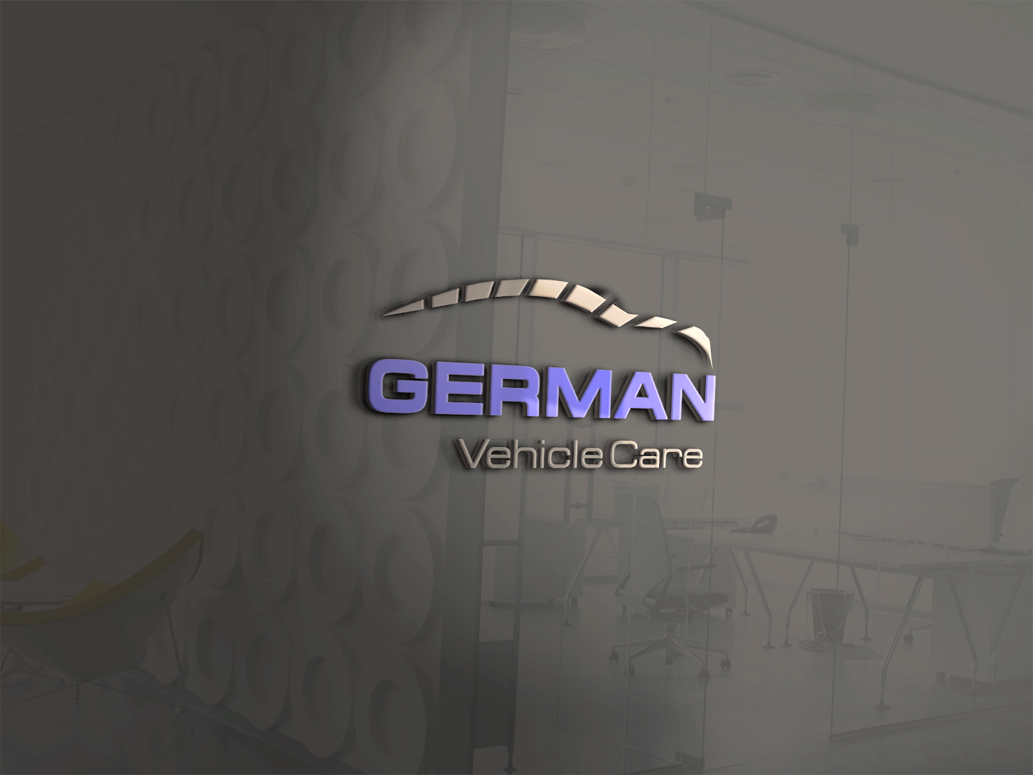 Create a logo for a professional, trustworthy, intelligent German auto repairer