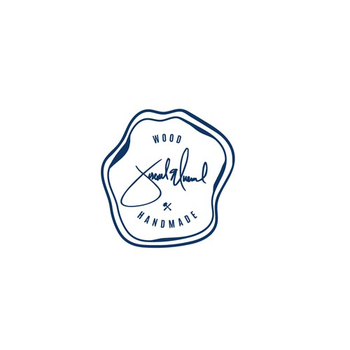 Sophisticated logo for wood handmade products