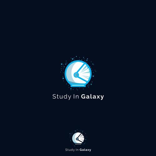 Logo concept fo Study In Galaxy