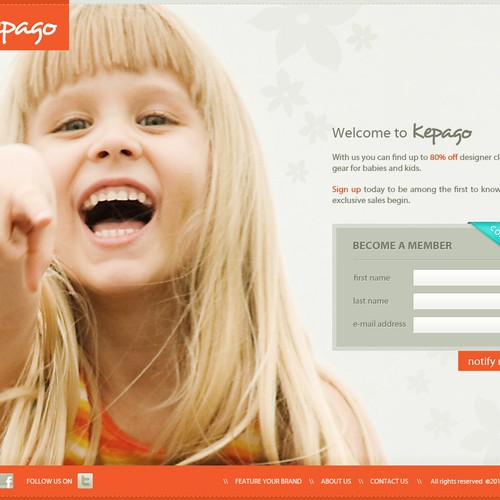website design for Kepago