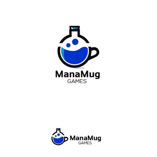 Contest logo winner for ManaMug Games